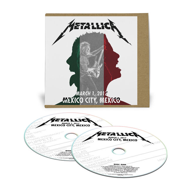 Live Metallica: Mexico City, Mexico - March 1, 2017 (2CD), , hi-res