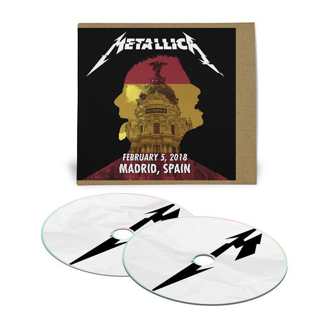 Live Metallica: Madrid, Spain - February 5, 2018 (2CD), , hi-res