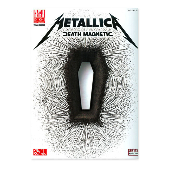 Death Magnetic - Bass Guitar Tablature Book, , hi-res