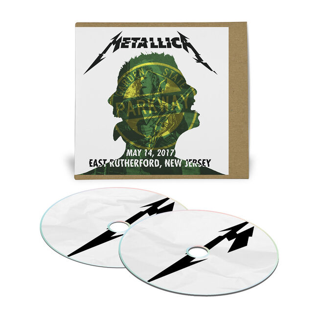 Live Metallica: East Rutherford, NJ – May 14, 2017 (2CD), , hi-res