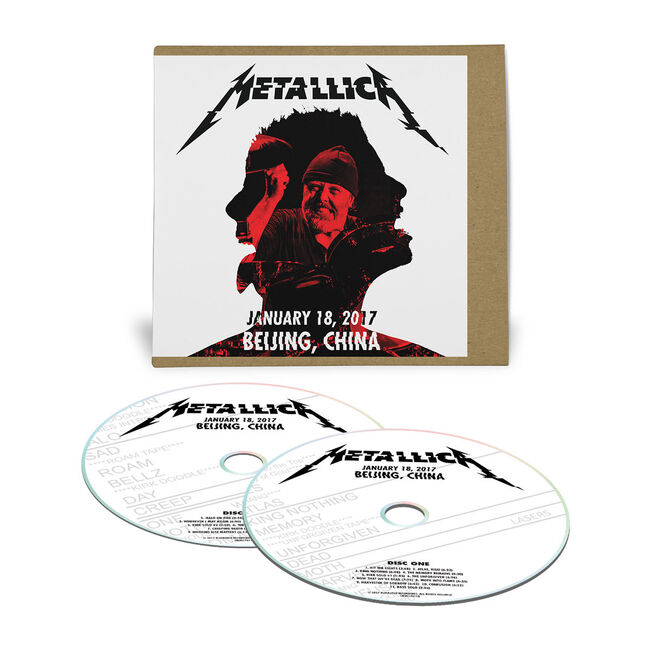 Live Metallica: Beijing, China - January 18, 2017 (2CD), , hi-res