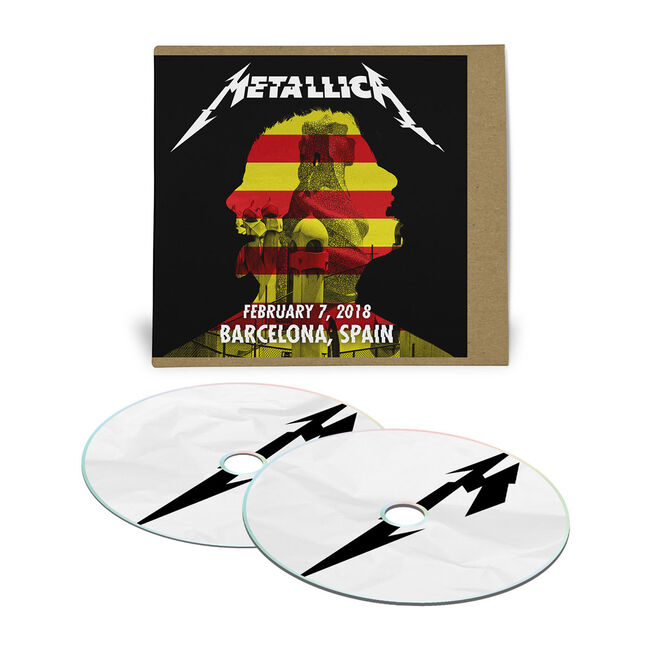 Live Metallica: Barcelona, Spain - February 7, 2018 (2CD), , hi-res