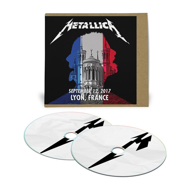 Live Metallica: Lyon, France - September 12, 2017 (2CD), , hi-res
