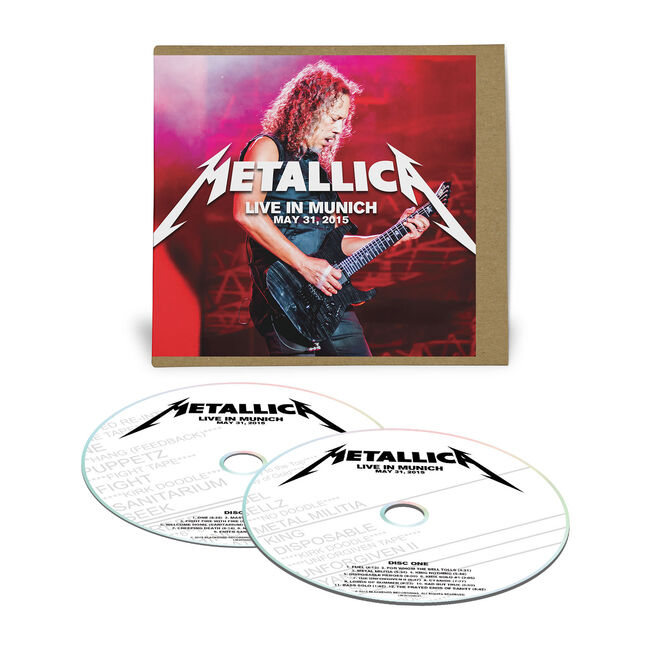 Live Metallica: Munich, Germany - May 31, 2015 (2CD), , hi-res