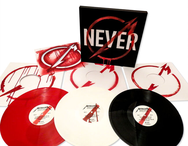 Through The Never Soundtrack - Colored Vinyl  (3LP), , hi-res