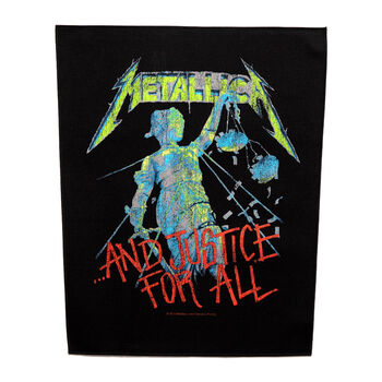 ...And Justice For All Back Patch, , hi-res