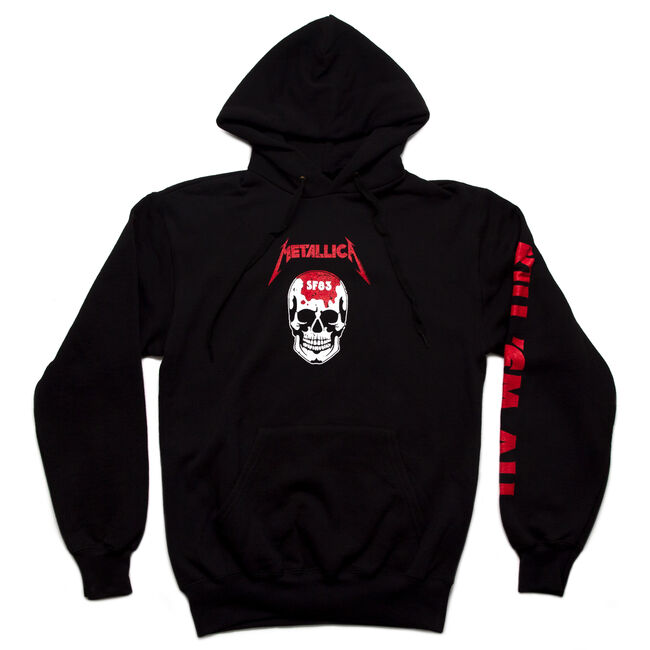Kill 'Em All Skull Pullover Hoodie, , hi-res