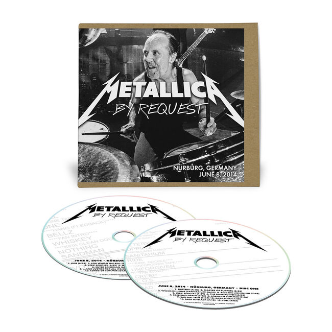 Live Metallica: Nürburg, Germany - June 8, 2014 (2CD), , hi-res