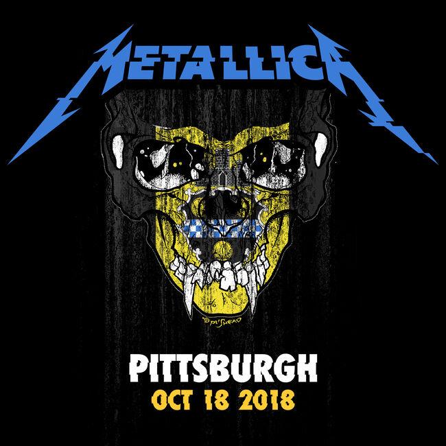 Live Metallica: Pittsburgh, PA - October 18, 2018 (2CD), , hi-res