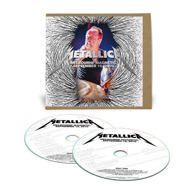 Live Metallica: Melbourne, Australia - September 16, 2010 (2CD), , hi-res