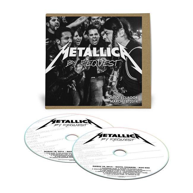 Live Metallica: Quito, Ecuador - March 18, 2014 (2CD), , hi-res