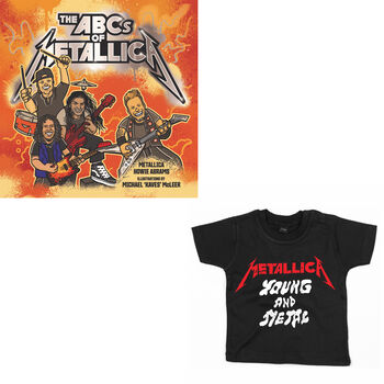 The ABCs of Metallica & Toddler/Youth Shirt Bundle, , hi-res