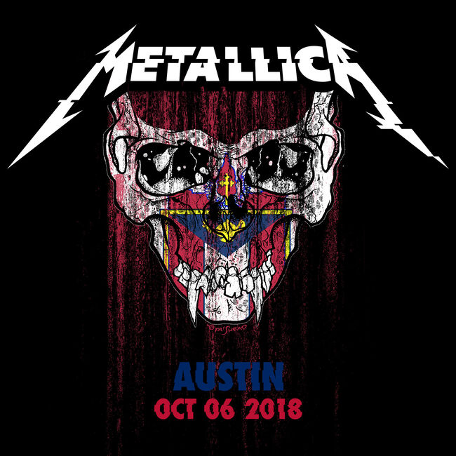 Live Metallica: Austin City Limits at Zilker Park, Austin, TX - October 06, 2018 (2CD), , hi-res