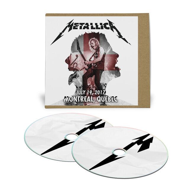 Live Metallica: Montreal, Canada – July 19, 2017 (2CD), , hi-res