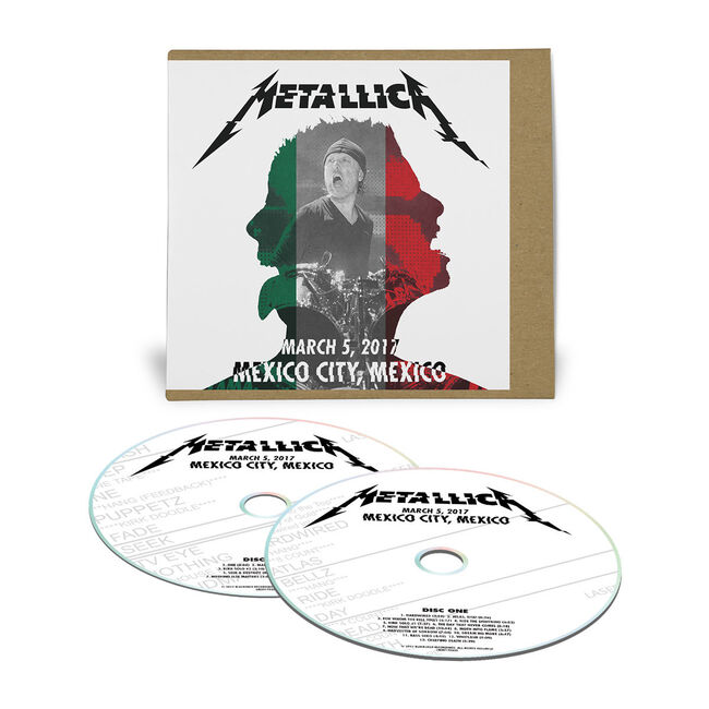 Live Metallica: Mexico City, Mexico - March 5, 2017 (2CD), , hi-res