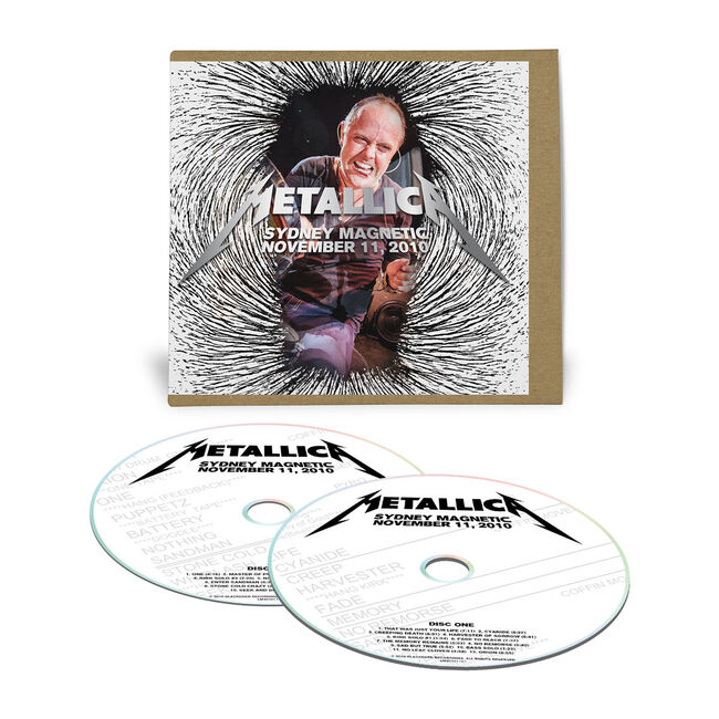 Live Metallica: Sydney, Australia - November 11, 2010 (2CD), , hi-res
