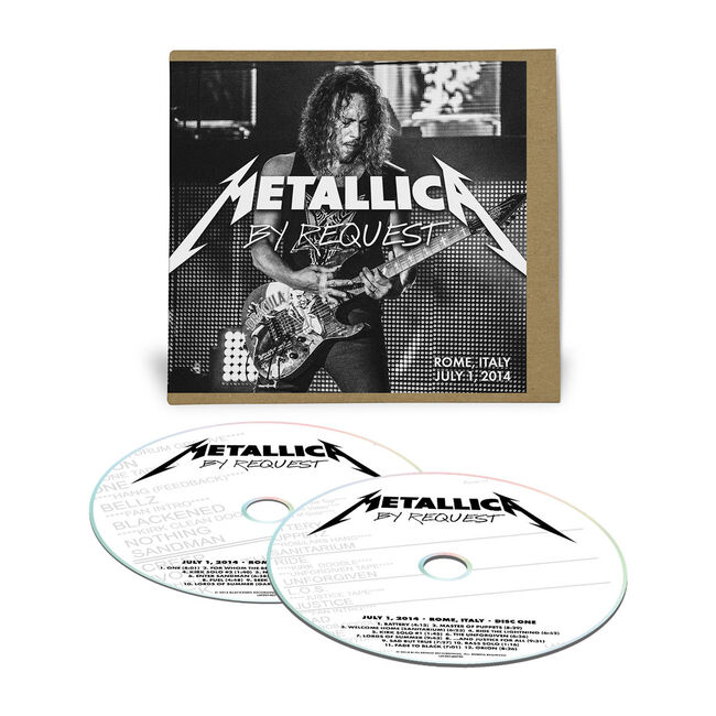 Live Metallica: Rome, Italy - July 1, 2014 (2CD), , hi-res