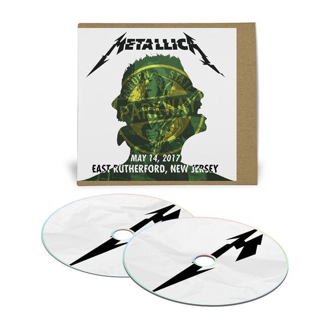 Live Metallica: East Rutherford, NJ – May 14, 2017 (2CD), , hi-res