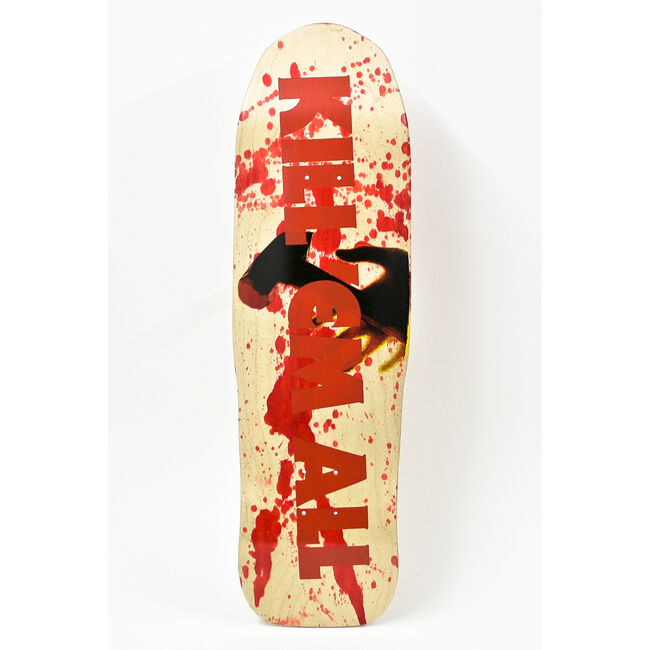 Kill 'Em All Skateboard Deck, , hi-res