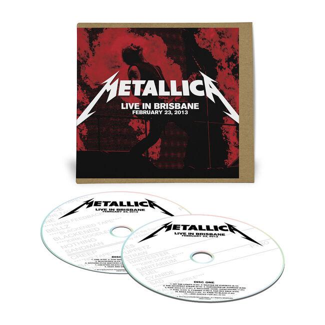 Live Metallica: Brisbane, Australia - February 23, 2013 (2CD), , hi-res