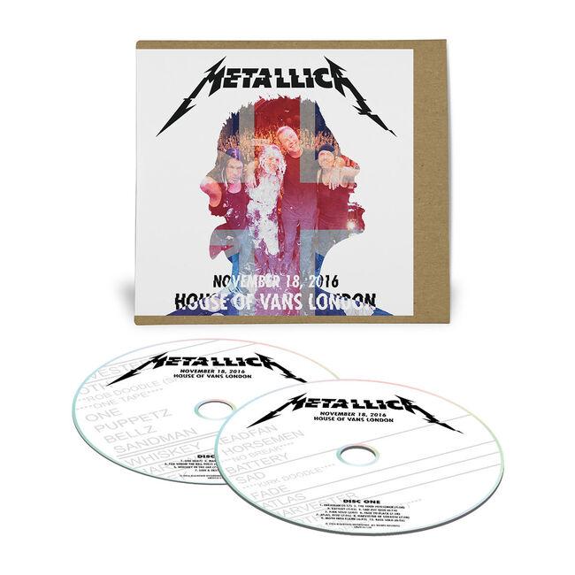 Live Metallica: House of Vans in London, United Kingdom - November 18, 2016 (2CD), , hi-res