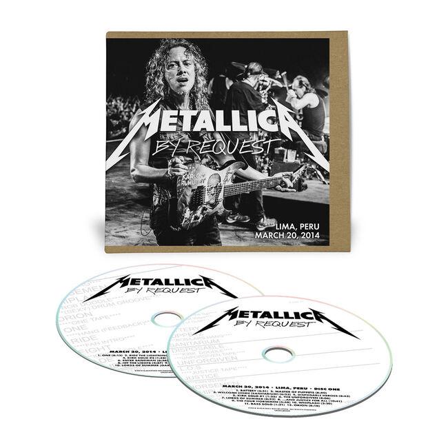 Live Metallica: Lima, Peru - March 20, 2014 (2CD), , hi-res