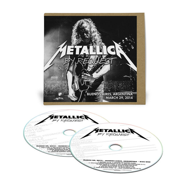 Live Metallica: Buenos Aires, Argentina - March 29, 2014 (2CD), , hi-res