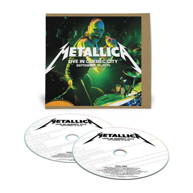 Live Metallica: Quebec City, Canada - September 14, 2015 (2CD), , hi-res
