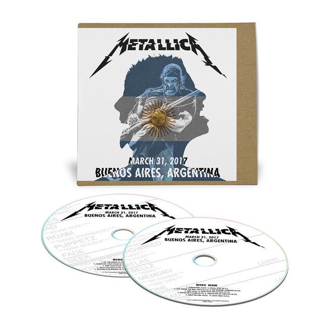 Live Metallica: Buenos Aires, Argentina - March 31, 2017 (2CD), , hi-res