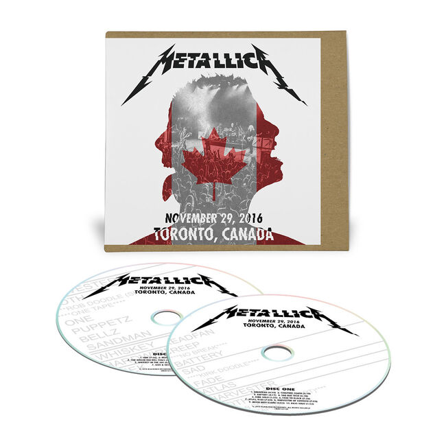Live Metallica: The Opera House in Toronto, Canada - November 29, 2016 (2CD), , hi-res