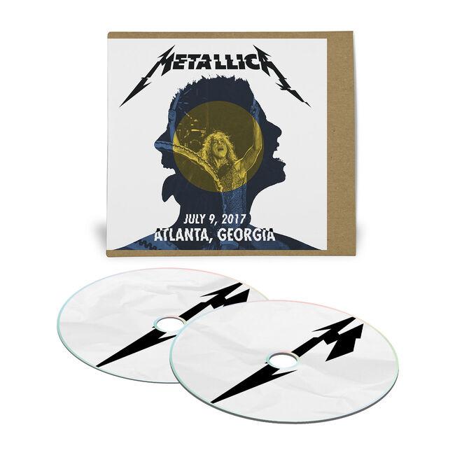 Live Metallica: Atlanta, GA – July 9, 2017 (2CD), , hi-res