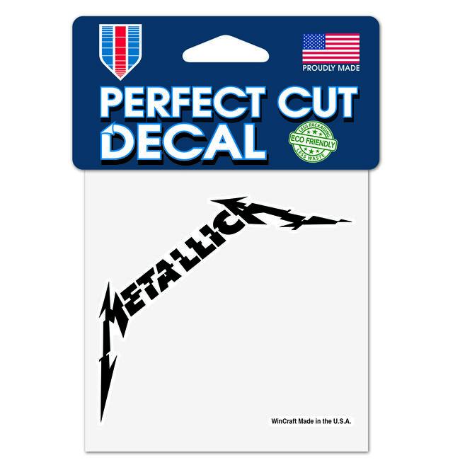 Glitch Metallica Logo Decal, , hi-res