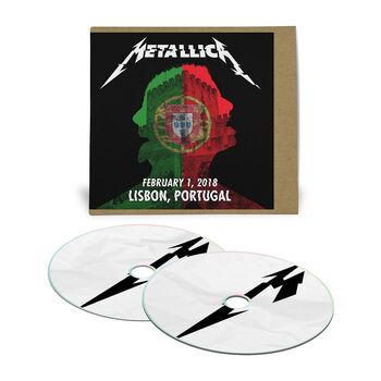 Live Metallica: Lisbon, Portugal - February 1, 2018 (2CD), , hi-res