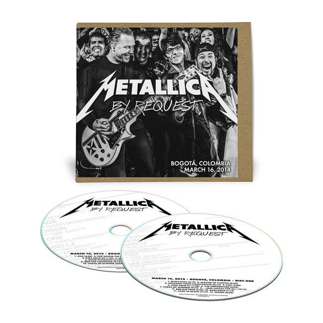 Live Metallica: Bogota, Colombia - March 16, 2014 (2CD), , hi-res