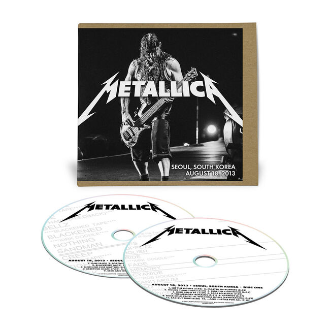 Live Metallica: Seoul, South Korea - August 18, 2013 (2CD), , hi-res