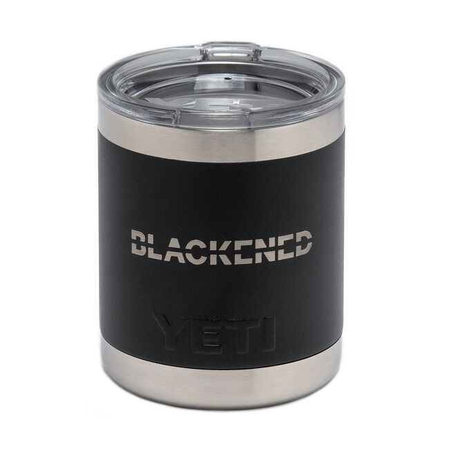 Blackened Whiskey Yeti Tumbler, , hi-res
