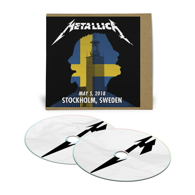 Live Metallica: Stockholm, Sweden - May 5, 2018 (2CD), , hi-res