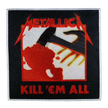Kill 'Em All Stick-On Patch, , hi-res