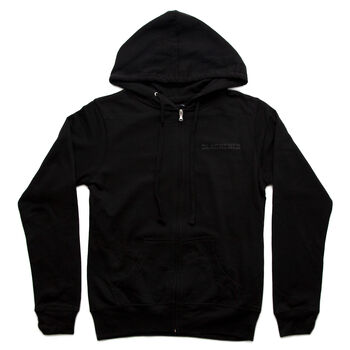 Blackened Distortion Women's Full Zip Hoodie, , hi-res