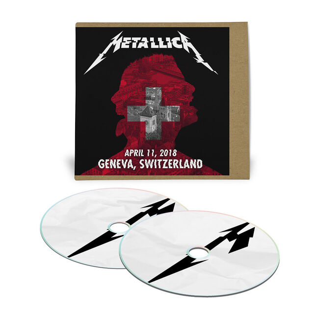 Live Metallica: Geneva, Switzerland - April 11, 2018 (2CD), , hi-res