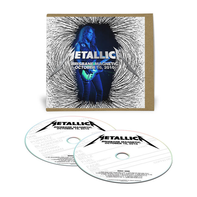 Live Metallica: Brisbane, Australia - October 16, 2010 (2CD), , hi-res