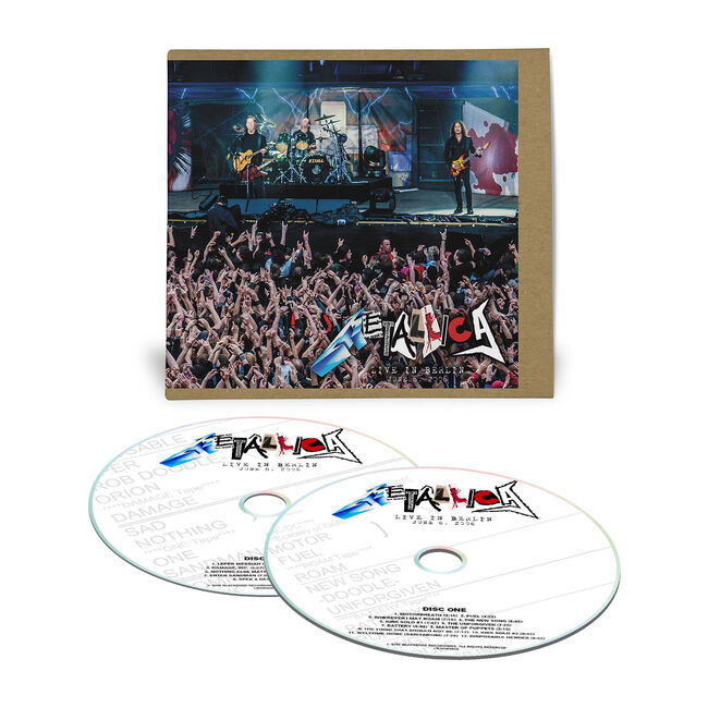 Live Metallica: Berlin, Germany - June 6, 2006 (2CD), , hi-res