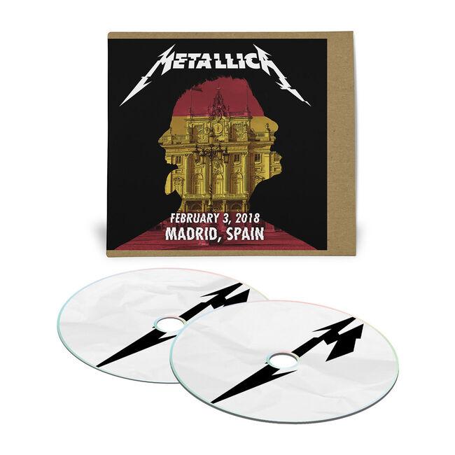 Live Metallica: Madrid, Spain - February 3, 2018 (2CD), , hi-res