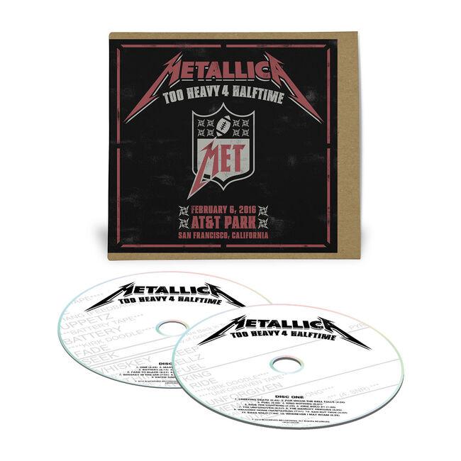 Live Metallica: The Night Before in San Francisco, CA - February 6, 2016 - 2CD, , hi-res