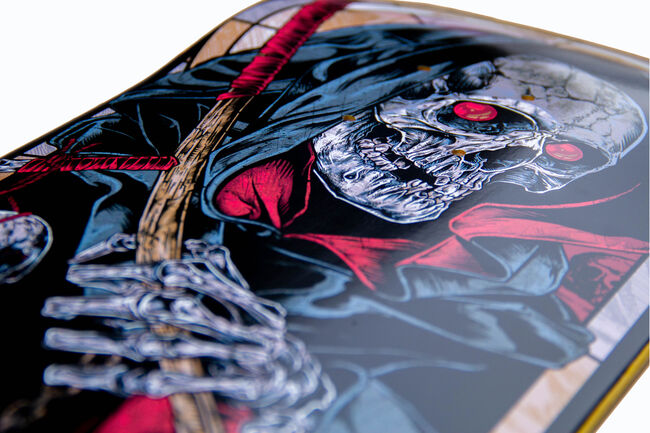 The Four Horsemen DEATH REAPER Skate Deck, , hi-res
