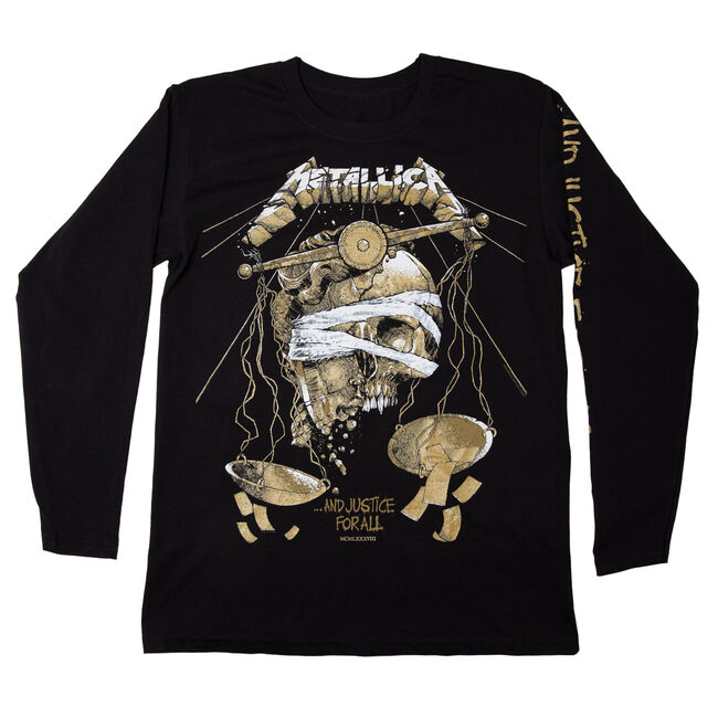 ...And Justice For All Long-Sleeve (Luke Preece) - Large, , hi-res