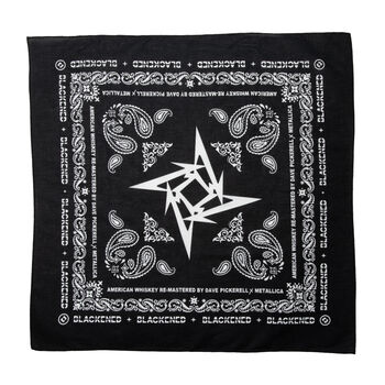 Blackened Whiskey Bandana, , hi-res