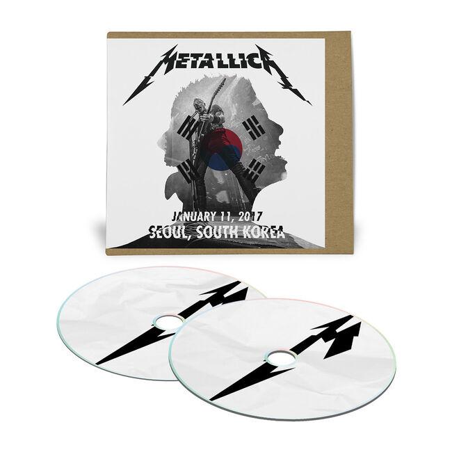 Live Metallica: Seoul, South Korea - January 11, 2017 (2CD), , hi-res