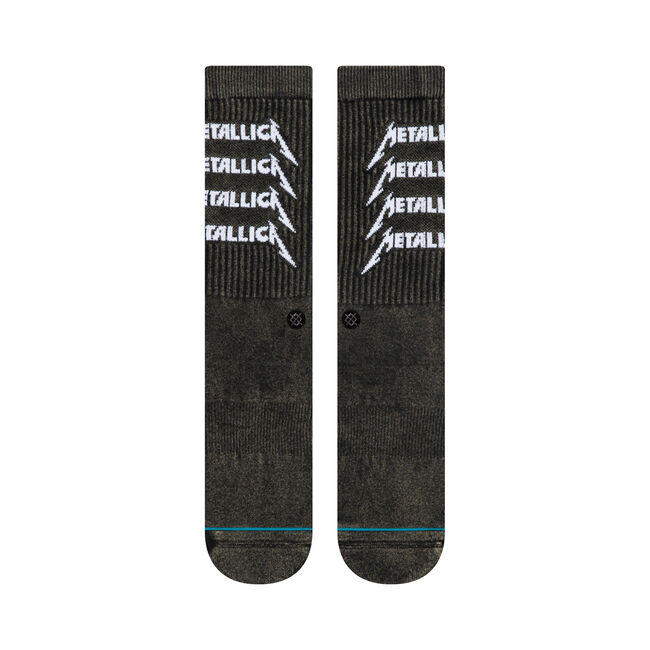 Metallica Logo Stacked Stance Socks, , hi-res