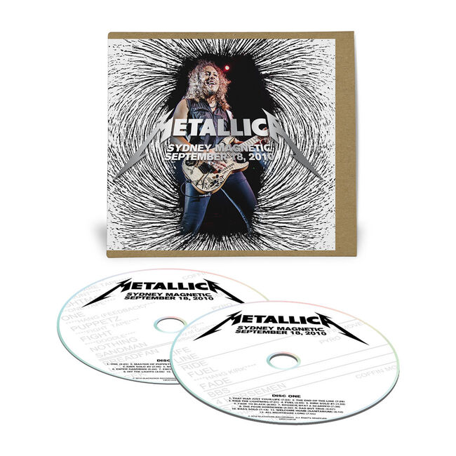 Live Metallica: Sydney, Australia - September 18, 2010 (2CD), , hi-res